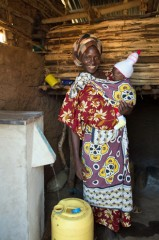 Beatrice and her family have clean, safe water thanks to their household filter.