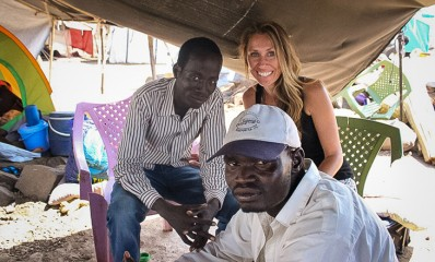 Samaritan's Purse staff members are helping to bring hope to people such as Thomas and Jeremiah.