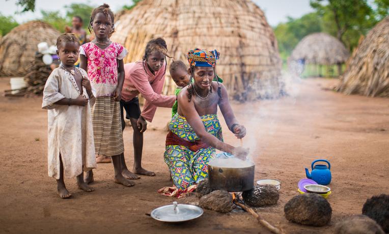 Fulani tribe near Egbe Hospital, Nigeria.