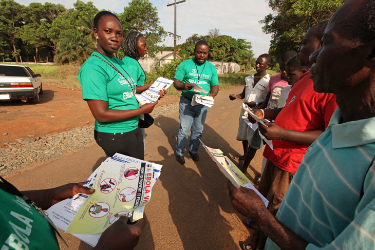 Samaritan's Purse has reached more than 230,000 people through our Ebola awareness campaign.