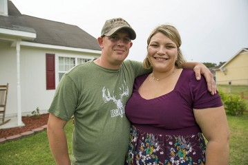 Chris and Morgan Van Dyken rededicated their marriage during an Operation Heal Our Patriots Alaska retreat.