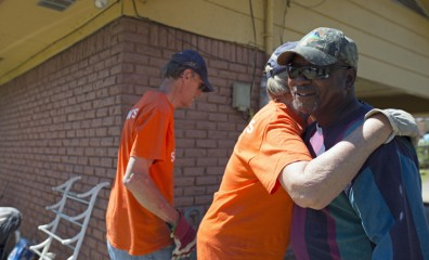 Volunteers responding to tornadoes in four states showed God's love to hundreds of people in need, including Johnny.