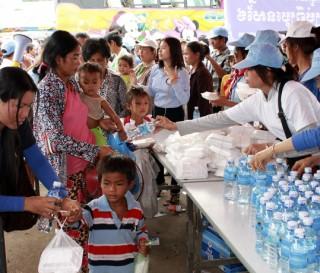 The Cambodian Exodus