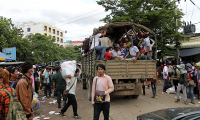 The Cambodian Exodus