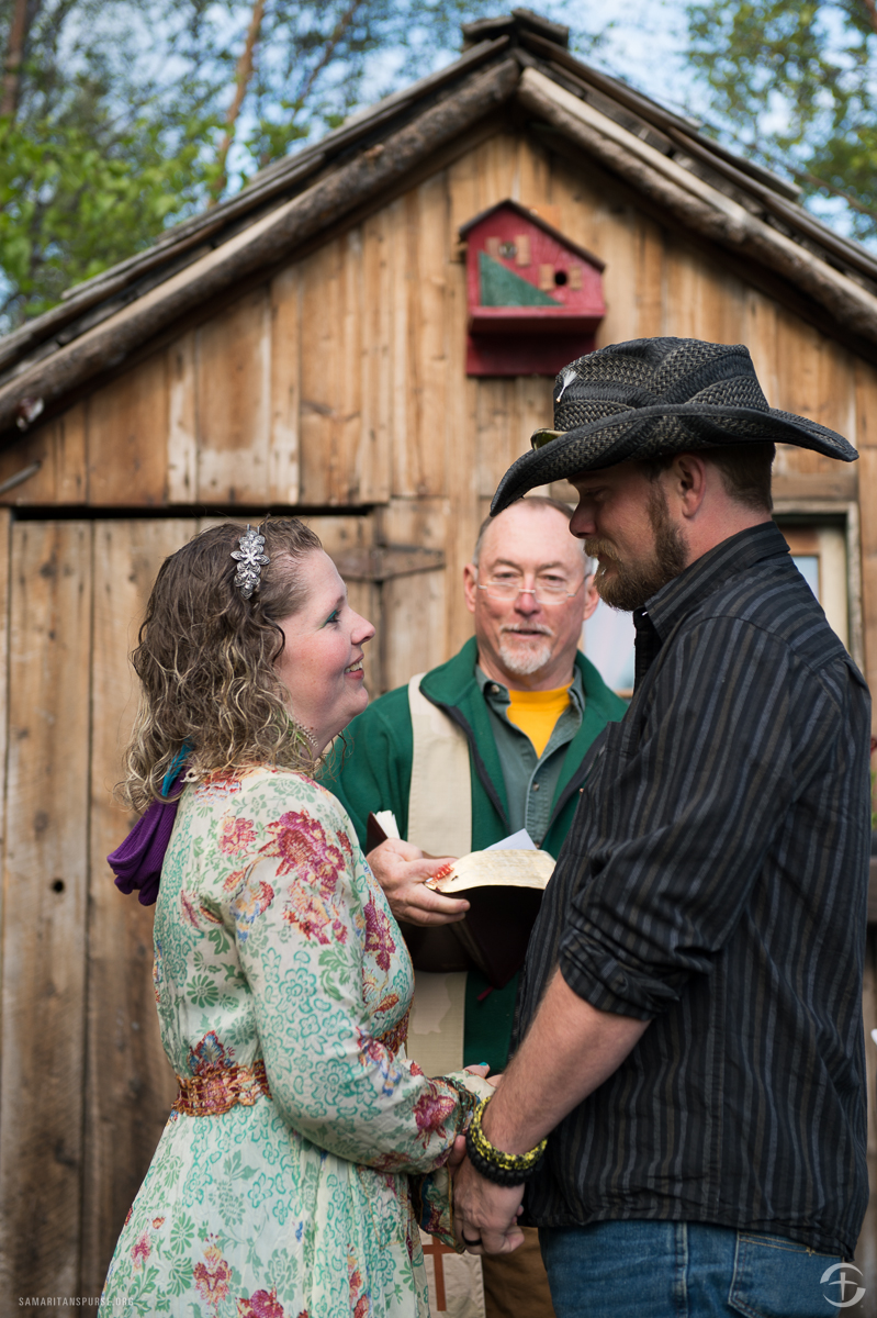 David and Stacey Kelley renewed their vows as well. David has rarely left home in recent years, and the retreat helped him connect not only with his wife but with other veterans too.