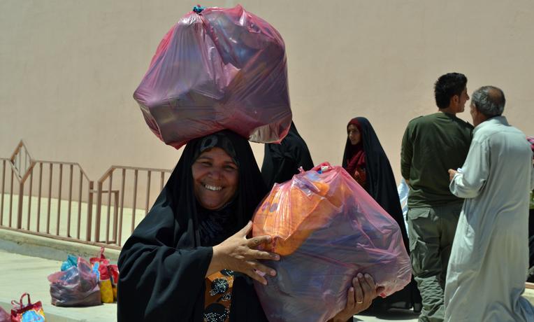 Iraq-food-distribution