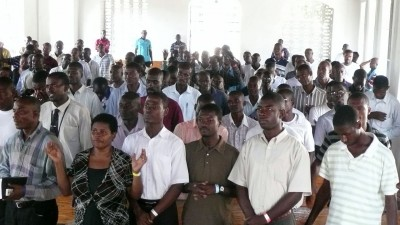 Haitian ministry leaders gather for a training.