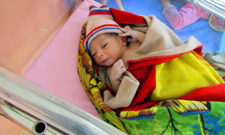 First Birth at Samaritan's Purse Child Birthing Center