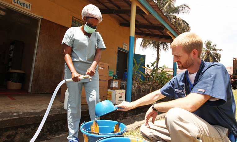 Dr. Brantly was serving with Samaritan's Purse in Liberia when he contracted Ebola.
