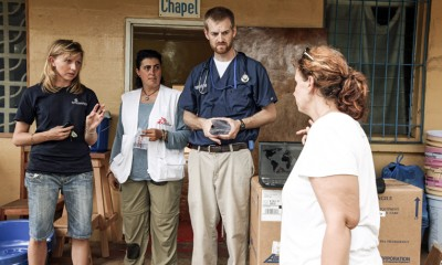 Dr. Kent Brantly contracted the Ebola virus while serving with Samaritan's Purse in Liberia.