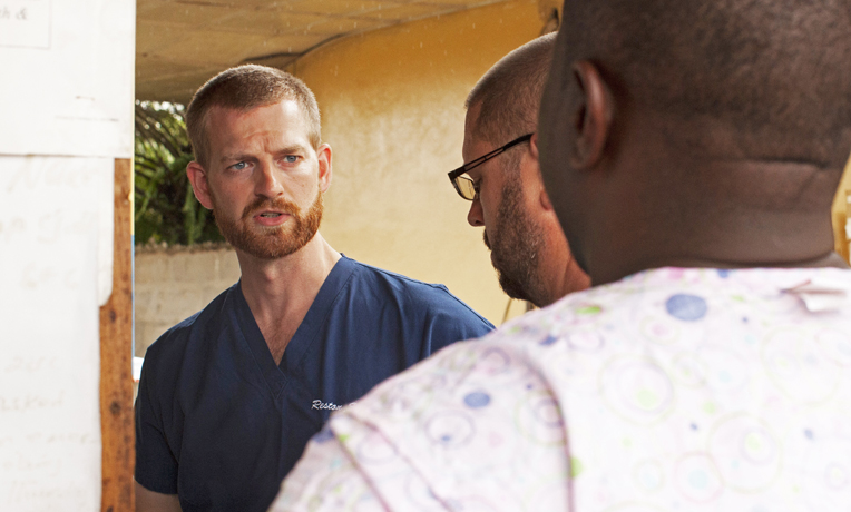 Dr. Brantly was serving as medical director for the Samaritan's Purse Ebola Consolidated Case Management Center in Monrovia when he tested positive for Ebola.