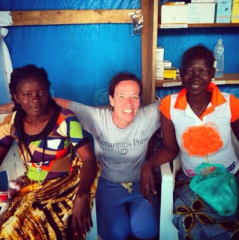 Two more survivors emerge from our Foya facility in Liberia.
