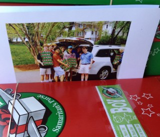 Collecting Shoeboxes for an Eagle Scout Project