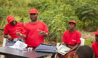 Samaritan's Purse staff and volunteers educate rural communities about people who are HIV-positive.
