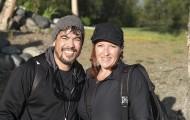 Army-Navy Couple Baptized in Alaska