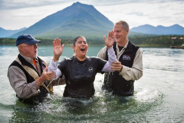 Baptism signified a new beginning for Tanya.