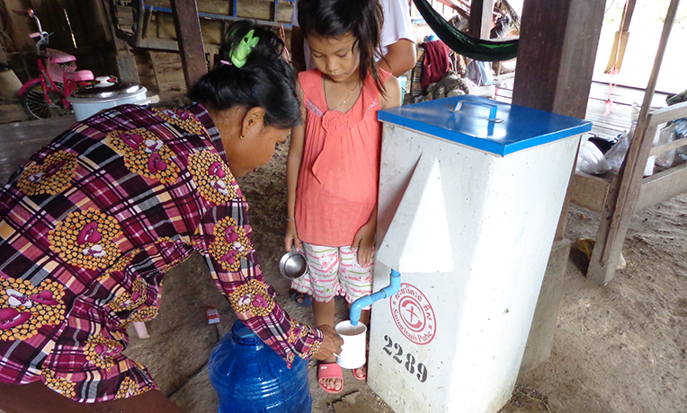 Clean Water Prevents Disease in Cambodia