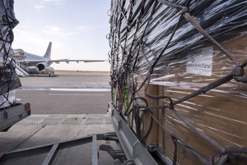 """We've got our work cut out for us."" That's how Samaritan's Purse staff in northern Iraq reacted as they saw 80 tons of relief unloaded from a cargo jet."