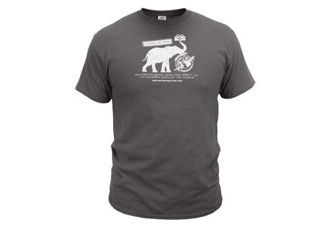 Operation Christmas Child Elephant Delivery Youth T-Shirt
