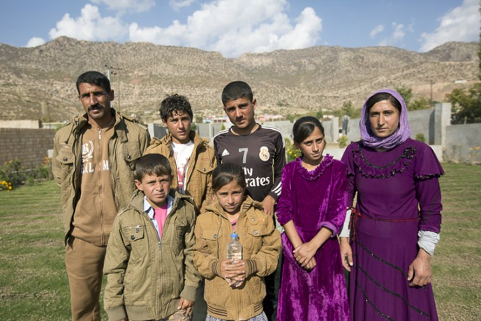 Iraq refugee winter supplies