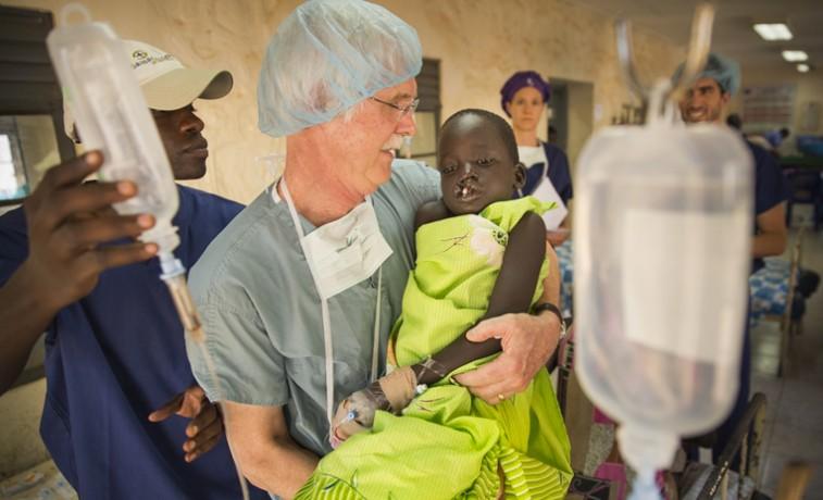 Samaritan's Purse South Sudan cleft lip surgery