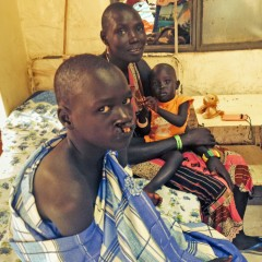 Samaritan's Purse South Sudan cleft lip surgery