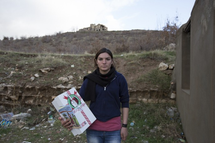 Amal, 14, received a shoebox gift through Operation Christmas Child.