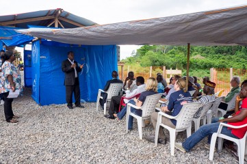 Samaritan's Purse opens first Ebola care center in southeast Liberia