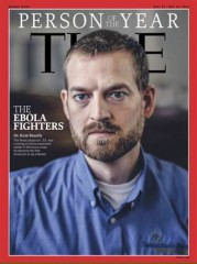 Dr. Brantly was featured as Person of the Year by Time magazine.
