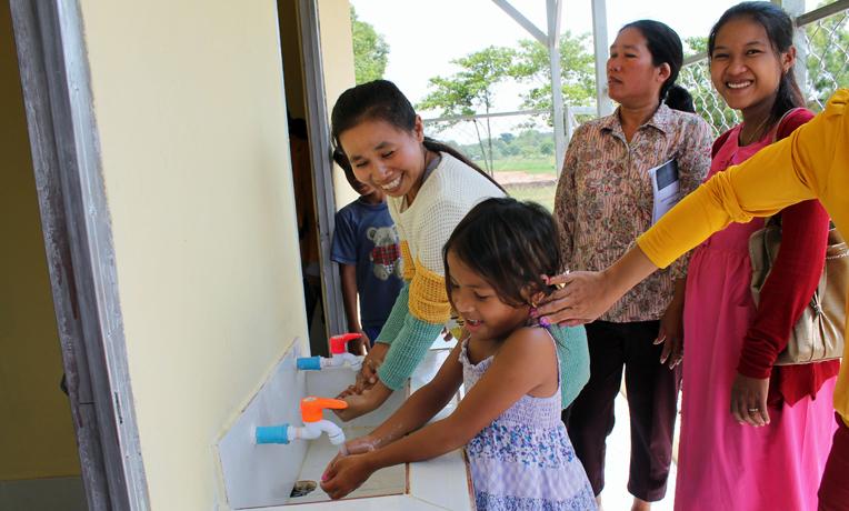 Water for Kobthom Primary School