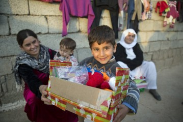 Norther Iraq relief Operation Christmas Child
