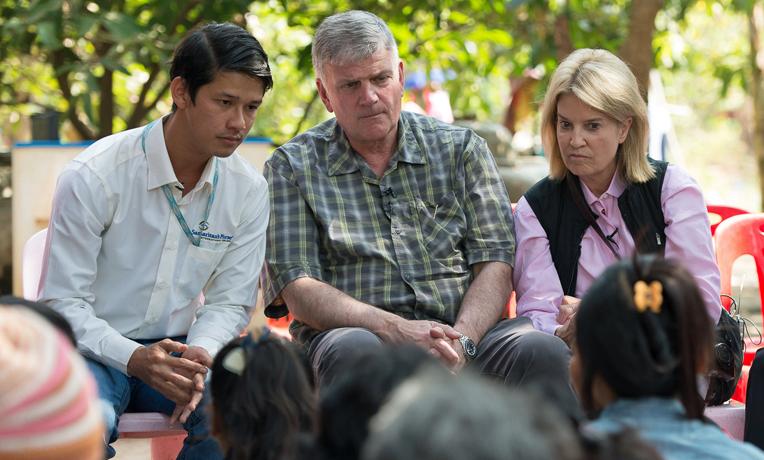 Cambodia human trafficking Franklin Graham