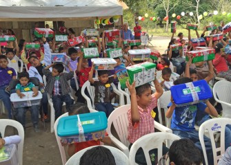 Operation Christmas Child in Mexico