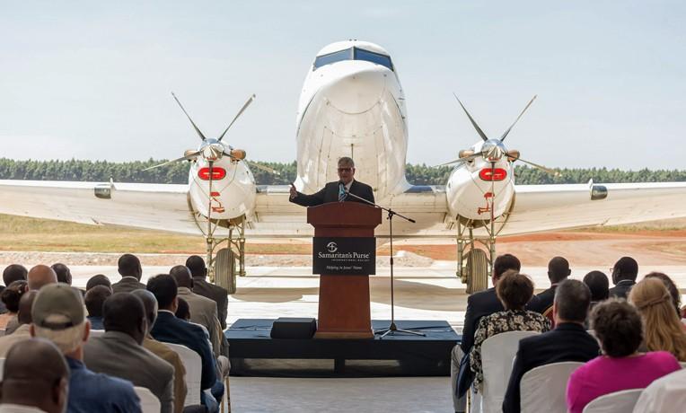 New Aircraft Hangar Dedicated in Kenya