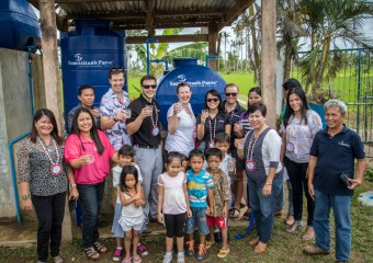 Clean water for schools in the Philippines