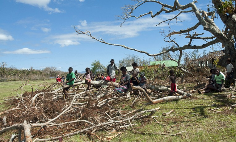 Cyclone Pam response