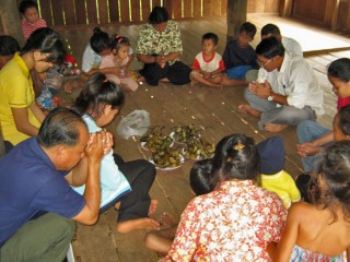Cambodia women and families