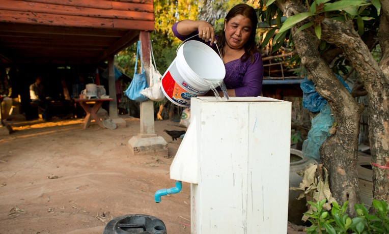Water Filters Improve Community Health