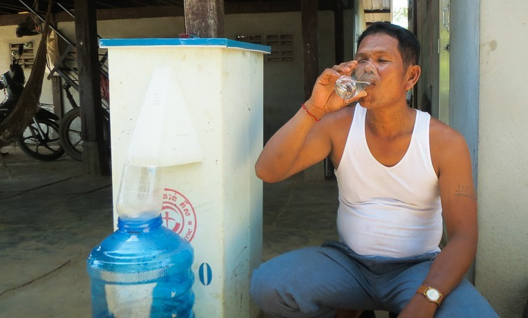 Cambodia water filter