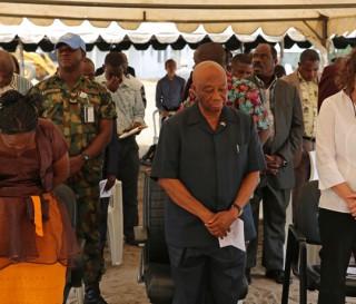 Liberia ELWA hospital construction