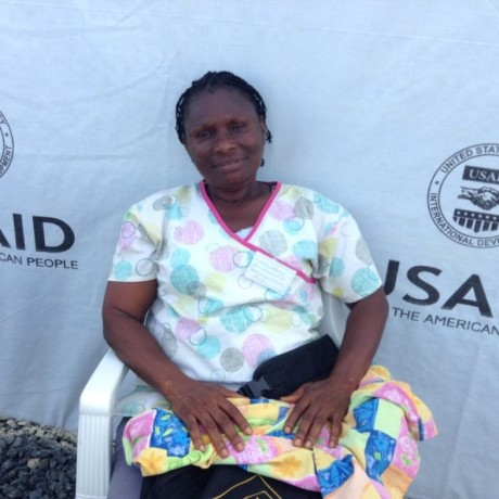 Dorothy is a nurse and mother trained to respond to cases of Ebola.