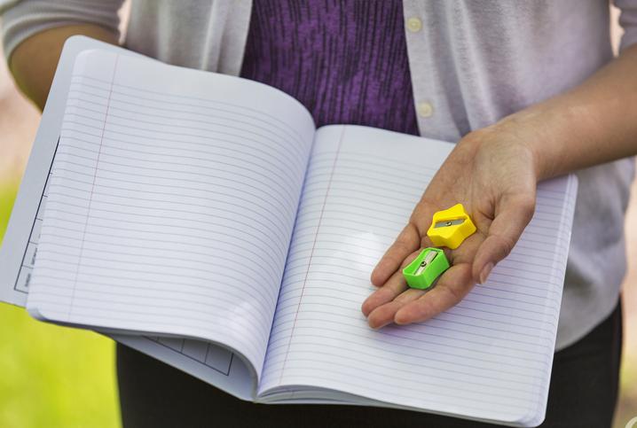 shoeboxstories irina and a pencil sharpener