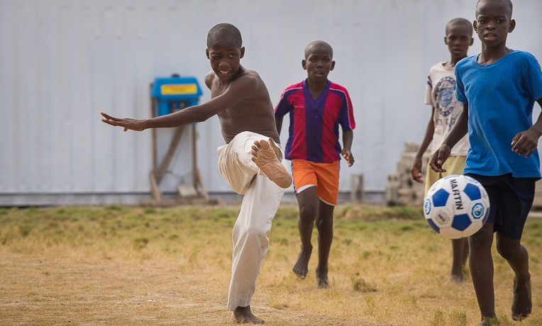 Reaching Children Through Sports