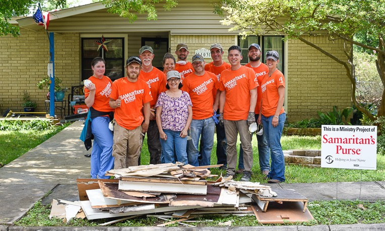 Samaritan's Purse Finishes Flood Response in Texas