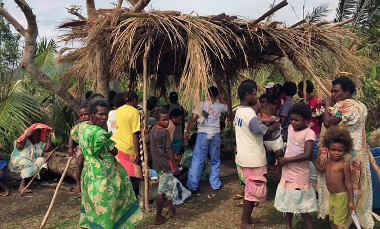 Vanuatu Cyclone Pam response