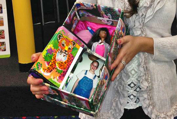 ShoeboxStories: Nanor and a Doll