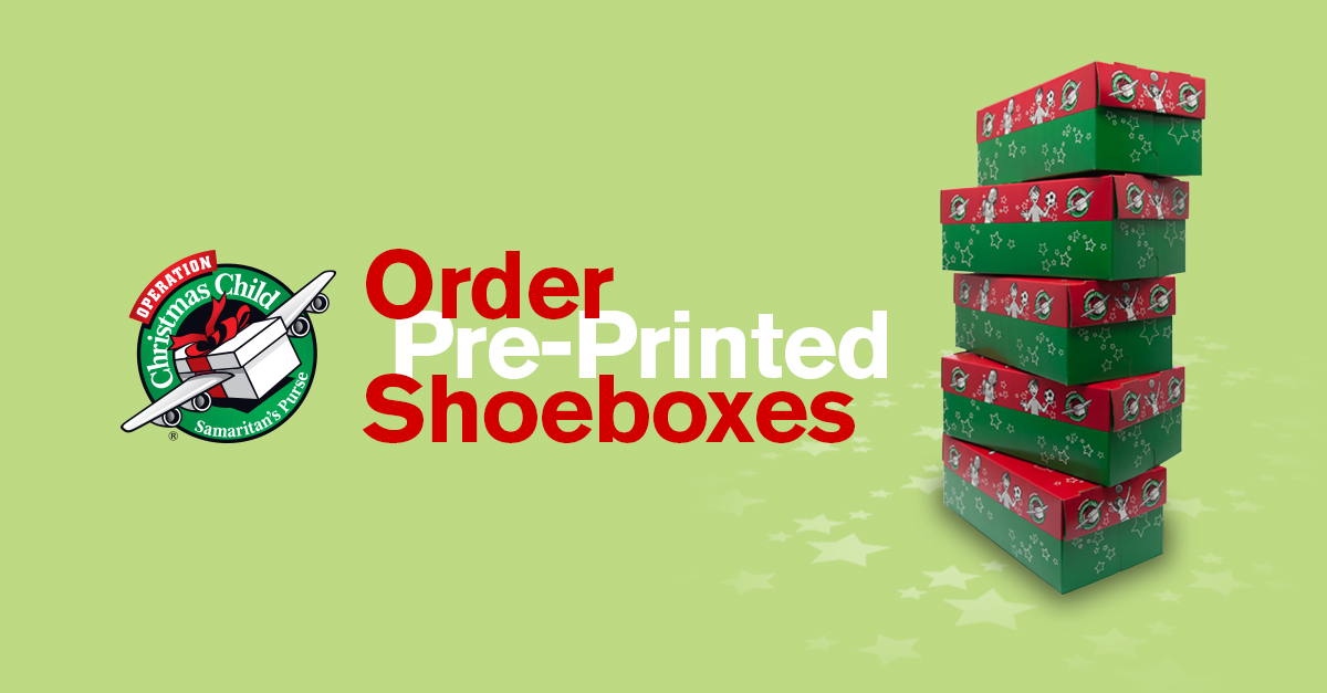 Operation Christmas Child Boxes- #images