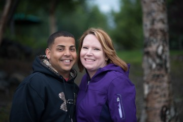 Army Sergeant Pat and Mandy Harris were among 10 couples in Alaska last week for marriage enrichment training.
