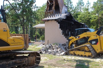 Our demolition work will help the church prepare for its next steps.