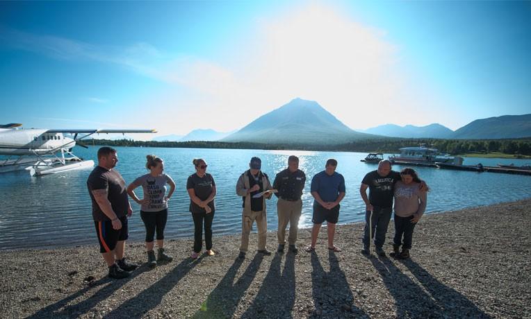 Six individuals were baptized at Samaritan Lodge Alaska last week.